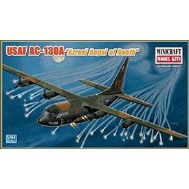 Minicraft Model Kits AC130A GUNSHIP 'AZRAEL Angel of Death' 1:144