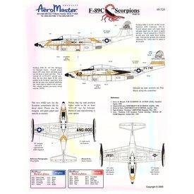 Aeromaster F89C SCORPIONS Part II 1:48*Discontinued*