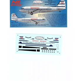 FLYING COLORS DC3 NORTHEAST 1:144 Decals