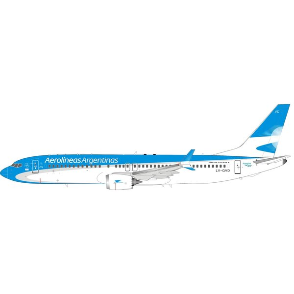 InFlight B737-8 MAX Aerolineas Argentinas LV-GVD 1:200 +Preorder+