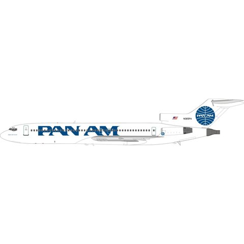 B727-200 Pan Am Billboard titles N365PA 1:200