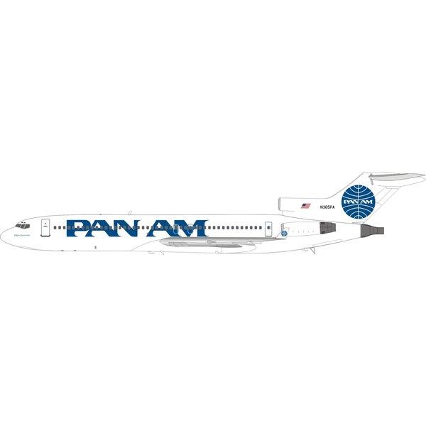 InFlight B727-200 Pan Am Billboard titles N365PA 1:200