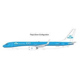 Gemini Jets B737-900W KLM 100 Years PH-BXP 1:200 Flaps+Preorder+
