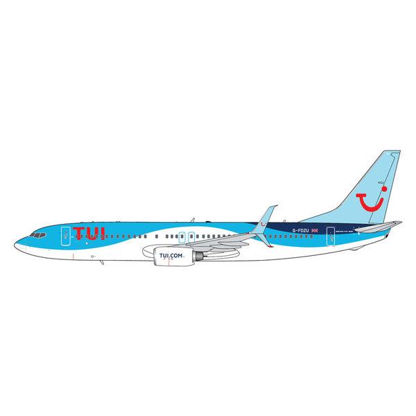 Gemini Jets B737-800S TUI Airways G-FDZU 1:400 scimitars
