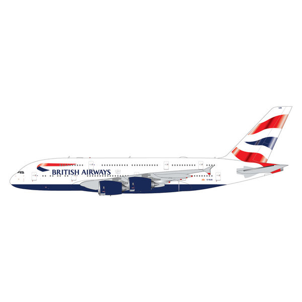 Gemini Jets A380-800 British Airways G-XLED 1:400