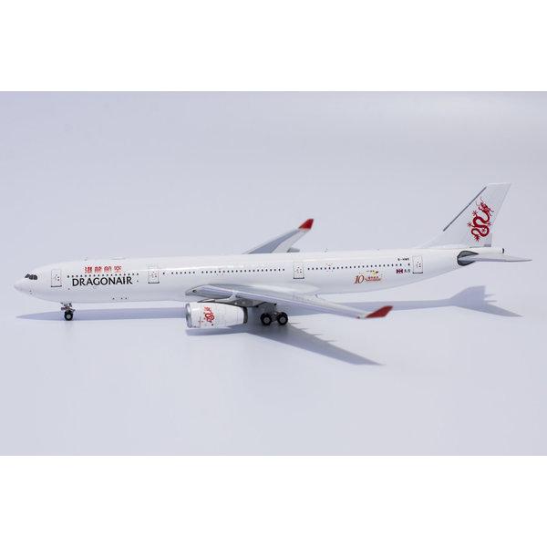 NG Models A330-300 Dragonair 10th Anniversary B-HWK 1:400