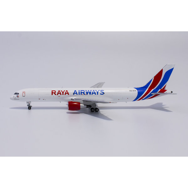 NG Models B757-200PCF Raya Airways new c/s 9M-RYA 1:400