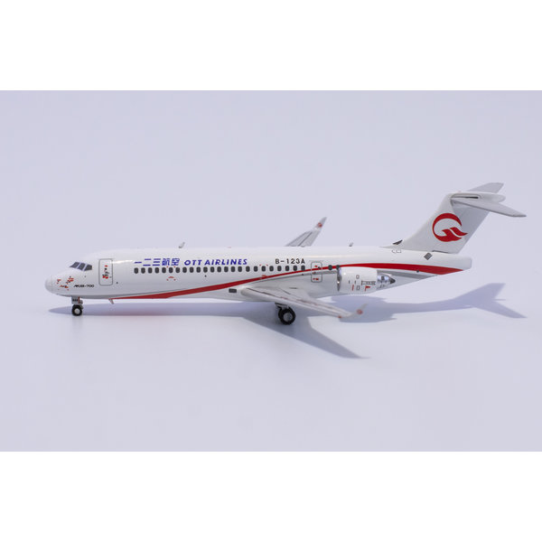 NG Models ARJ21-700 OTT Airlines B-123A 1:400