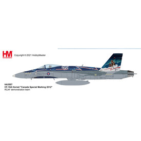 Hobby Master CF188A Hornet RCAF 2012 CF18 Demonstration Team 1:72 +Preorder+