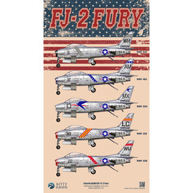 Kitty Hawk Models FJ2 Fury 1:48 Scale Kit New 2019