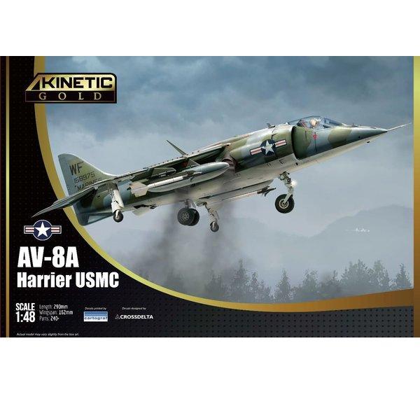 KINETIC AV8A Harrier USMC 1:48