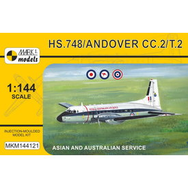 Mark 1 Models HS748 Andover CC.2/T.2  Asian & Australian Service 1:144 New 2020