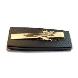 ACI Tie Bar Concorde Gold Plate