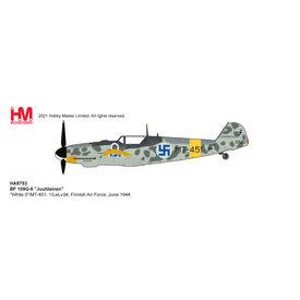 Hobby Master BF109G-6 Juutilainen 1/LeLv34 Finnish AF WHITE0 1:48 +Preorder+