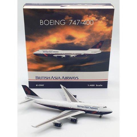 B747-400 British Asia Airways G-CIVE 1:400