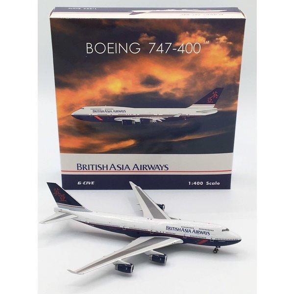 Phoenix B747-400 British Asia Airways G-CIVE 1:400