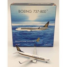 Phoenix B737-800W Singapore Airlines  9V-MGA 1:400