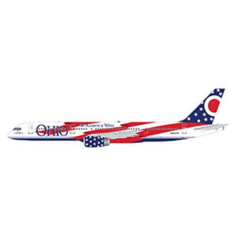 B757-200 America West Columbus Ohio Flag N905A1:200