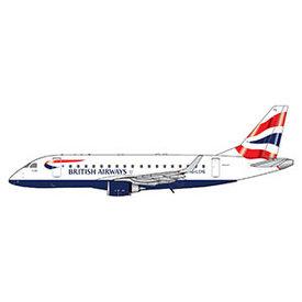 Gemini Jets ERJ170 British Airways G-LCYG 1:400
