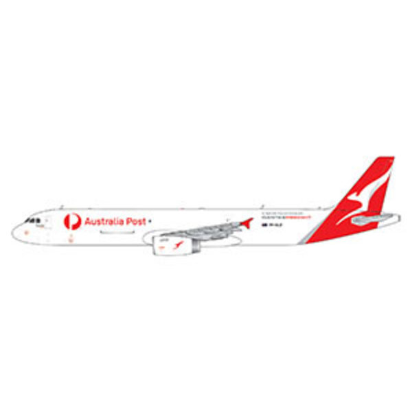 Gemini Jets A321P2F Qantas Freight / Australia Post 1:400 +FUTURE+PREORDER+