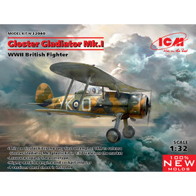 ICM Model Kits Gladiator Mk1 RAF 1:32 New Mould 2019
