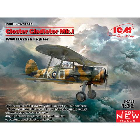 Gladiator Mk1 RAF 1:32 New Mould 2019
