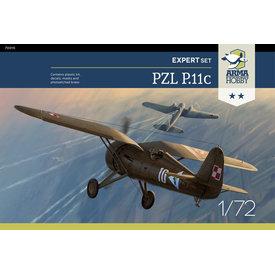 ARMA PZL P.11c Expert set 1:72