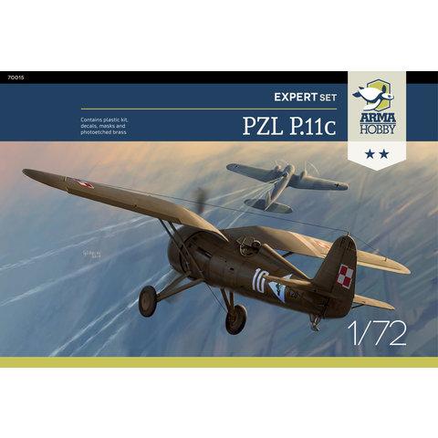 PZL P.11c Expert set 1:72