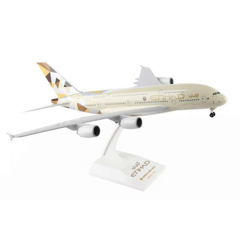 A380-800 Etihad 2014 livery 1:200 With Gear+stand