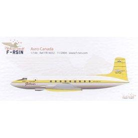 F-Resin AVRO CANADA JETLINER 1:144 Resin kit