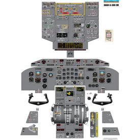 Aviation Training Graphics Cockpit Training Poster Dash 8-300 EM