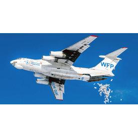AviaBoss IL76T World Food Programme RA-76780 1:200 (plastic)  +preorder+