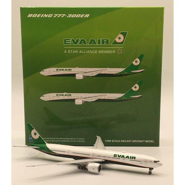 JC Wings B777-300ER Eva Air 2015 livery B-16740 1:400