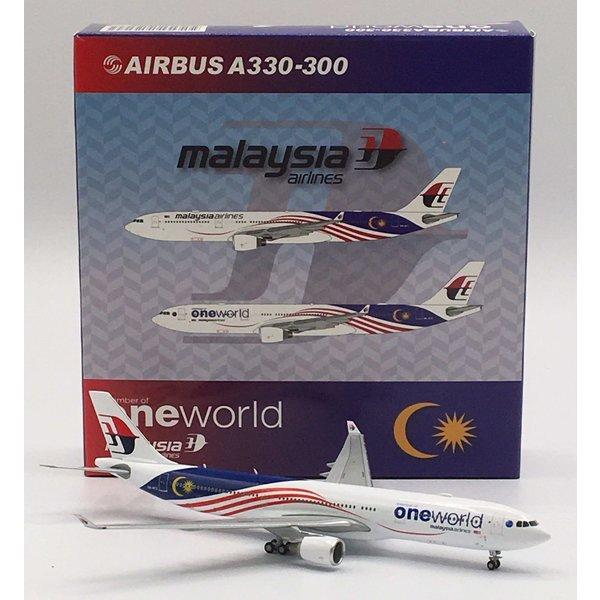 JC Wings A330-300 Malaysia One World 9M-MTE 1:400