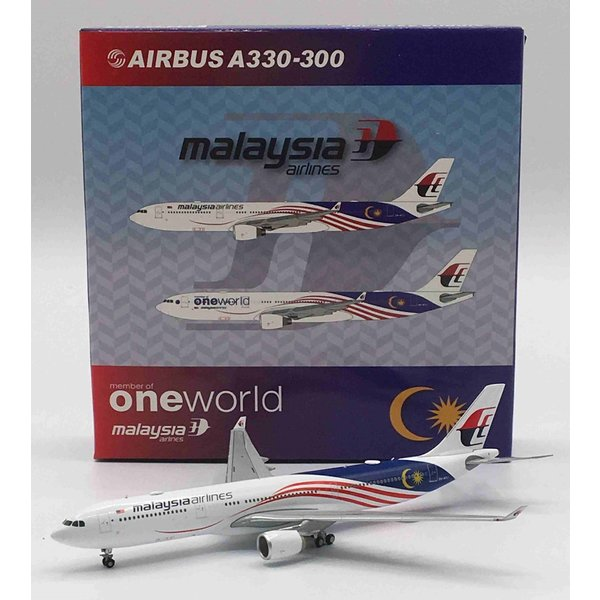 JC Wings A330-300 Malaysia Negaraku 9M-MTJ 1:400 +preorder+