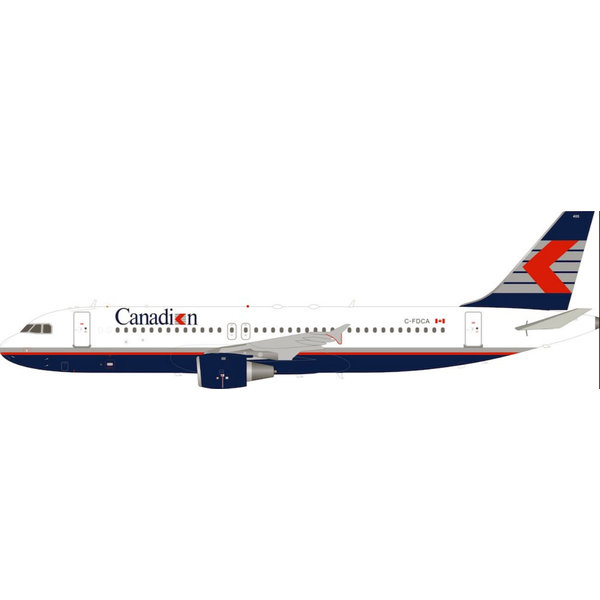 InFlight A320-200 Canadian Airlines Chevron C-FDCA 1:200