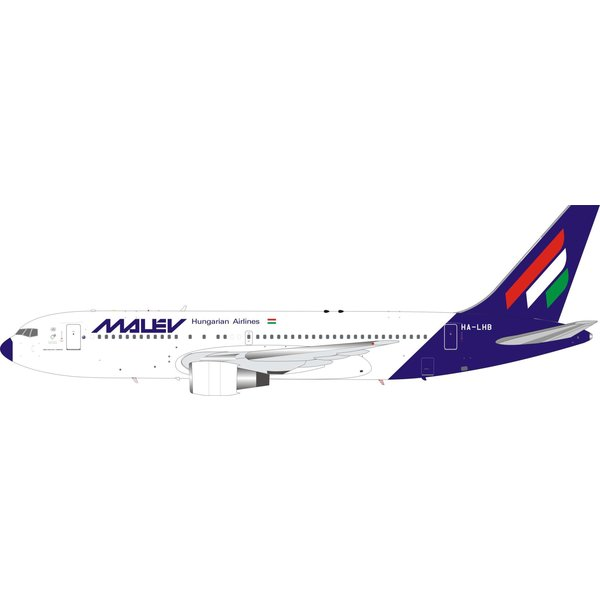 InFlight B767-200 Malev Hungarian Airlines HA-LHB 1:200 +preorder+