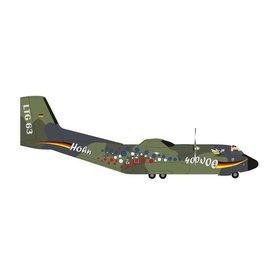 Herpa C160 Transall Luftwaffe LTG63 Hohn 400000 hours 1:200