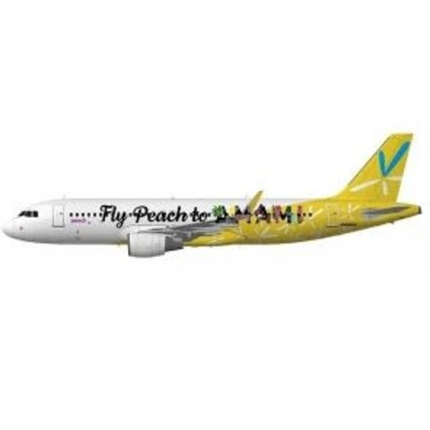 A320S Peach Aviation AMAMI JA08VA 1:200 sharklets +preorder+ +NSI+