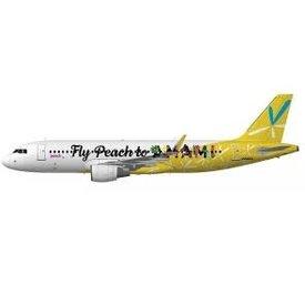 JC Wings A320S Peach Aviation AMAMI JA08VA 1:400 sharklets +preorder+