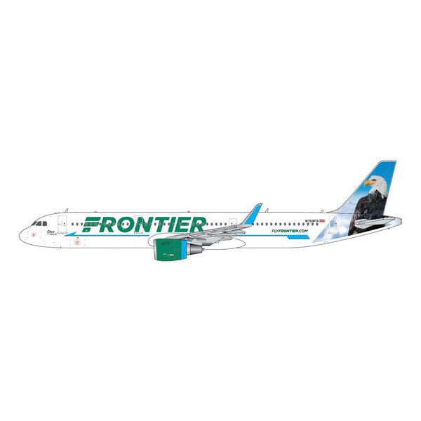 Gemini Jets A321S Frontier Airlines Steve the Eagle N709FR 1:400 +Preorder+