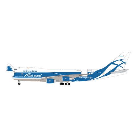 B747-400ERF Air Bridge Cargo VP-BIM 1:200 interactive