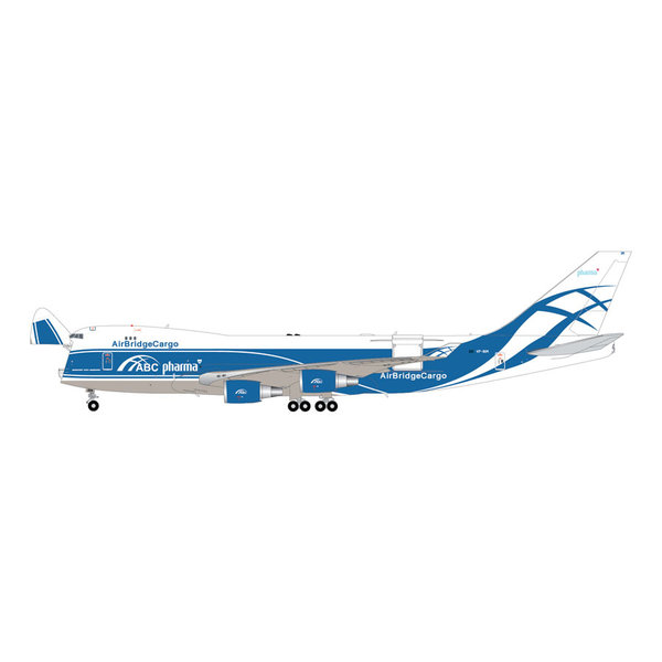 Gemini Jets B747-400ERF Air Bridge Cargo VP-BIM 1:200 interactive