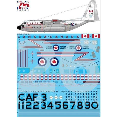 26 Decals Lockheed CC-130 Hercules CAF Hi Viz 1:72 Decals