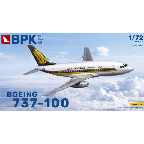 B737-100 Singapore Airlines 1:72