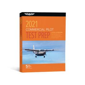 ASA - Aviation Supplies & Academics Commercial Pilot Test Prep 2021 FAA