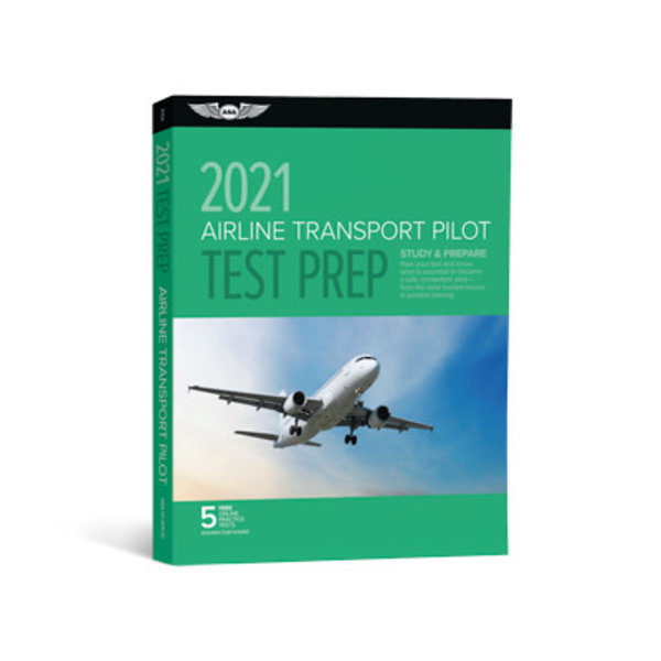 ASA - Aviation Supplies & Academics ATP Airline Transport Pilot Test Preparation 2021