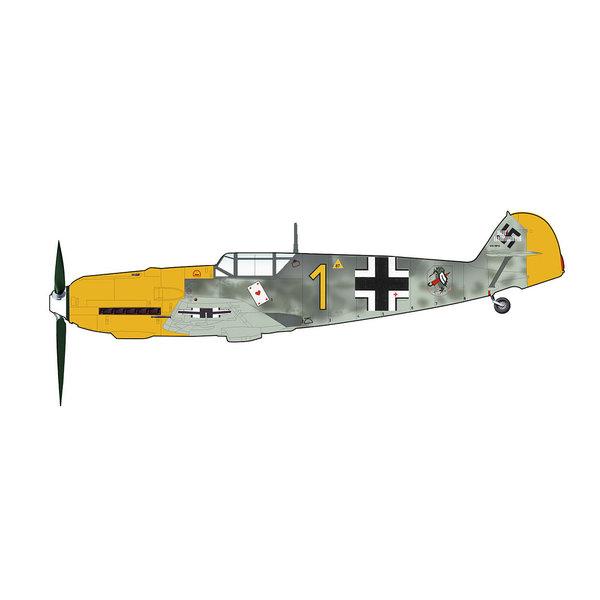 Hobby Master BF109E3 6/JG 51 YELLOW 1 Oblt.Priller 1940 1:48 +Preorder+