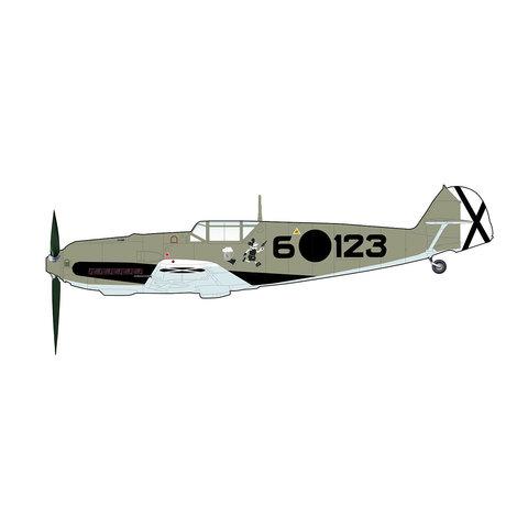 BF109E3 3.J/88 Schmoller-Haldy 6.123 Legion Condor 1:48 +Preorder+