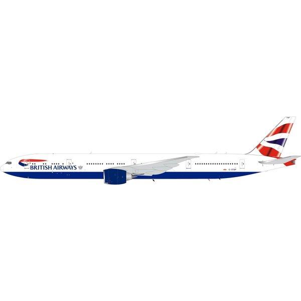 InFlight B777-300ER British Airways Union G-STBP 1:200 coin / stand +Preorder+